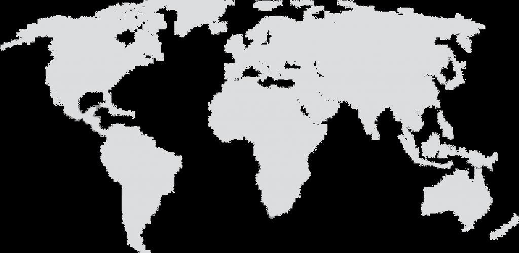 Weltkarte hell
